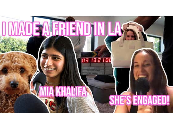 I MADE A NEW LA FRIEND- *MIA KHALIFA*