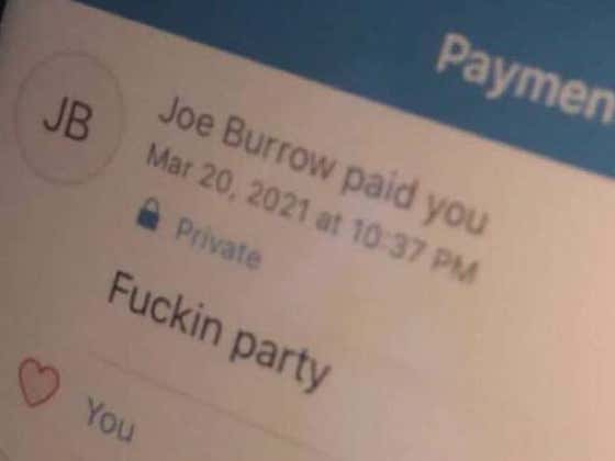 'Fuckin Party' - Joe Burrow, Dropping The Best Advice As He Bought $500 Worth Of Shots At An OU Bar After They Upset Virginia