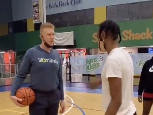 When Will People Learn It's A Bad Idea To Challenge The White Mamba To A Game Of 1-On-1?