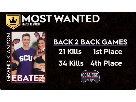 Round Two Of The Barstool College Gaming Championship Is Tonight And Is There ANYONE Who Can Compete With The Defending MVP Ebatez?