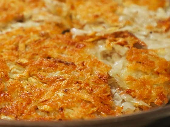 Perfect Crispy Hash browns