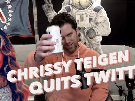 OMM: Chrissy Teigen Deletes Her Twitter