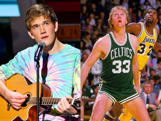 Bo Burnham Has Been Cast As Larry Bird In A New HBO Series