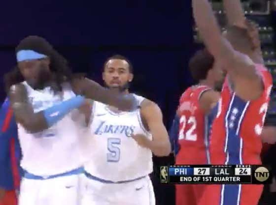 Sick League: Dwight Howard Gets Tossed From Game After Getting Lightly Shoved. Yes, You Read That Correctly