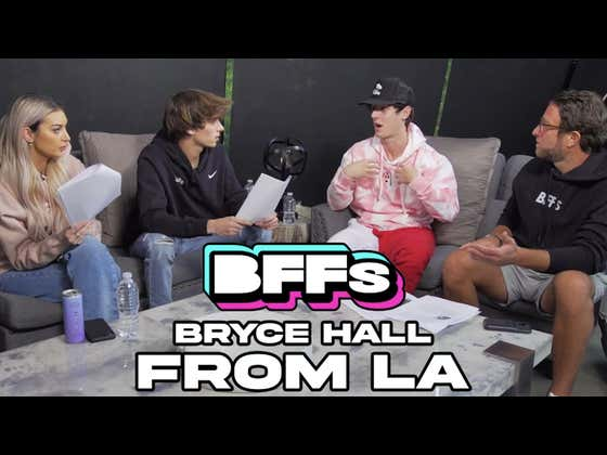 Bryce Hall Says He's The One Who Broke Up With Addison Rae