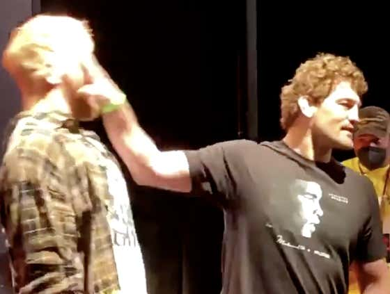 Jake Paul and Ben Askren Just Got Physical At Their First Press Conference