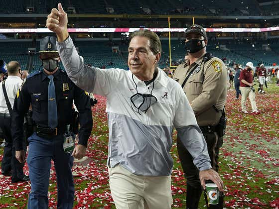 Listen to Nick Saban Explain Why He Changed His Coaching Philosophy and You'll Understand Why He's the GOAT