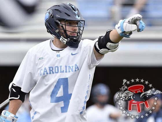 As Is Tradition, UNC's Chris Gray Is Bullying Defenders And Goalies All Across The Nation This Spring