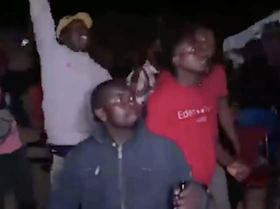Watch Francis Ngannou's Hometown Of Batié, Cameroon React To His Championship Winning KO Last Night