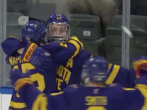 I Double Dog Dare You To Find Me A Saucier Empty Net Goal Than This Minnesota State Bar Down Snipe