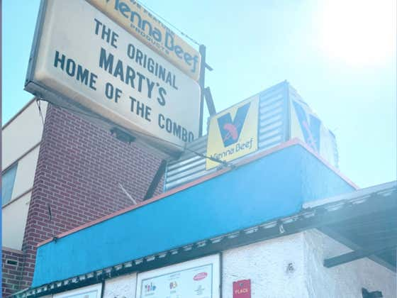 Marty's Hamburger Stand Simply Sounds Like A Place With An Iconic Burger