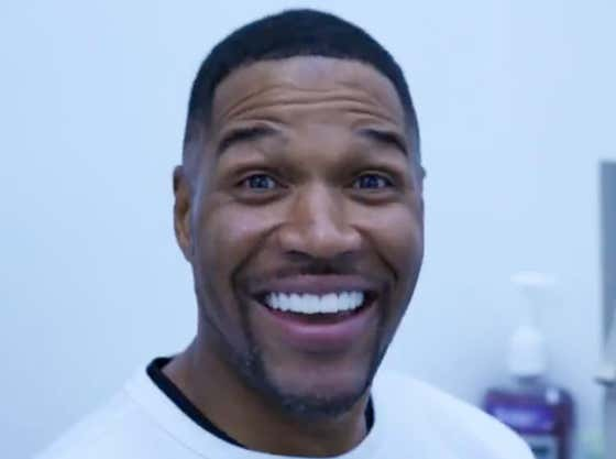 It Is With A Heavy Heart I Announce That Michael Strahan Has Gotten Rid Of The Gap In His Teeth (Or He Is Wayyyyy Too Early With An April Fool's Joke)