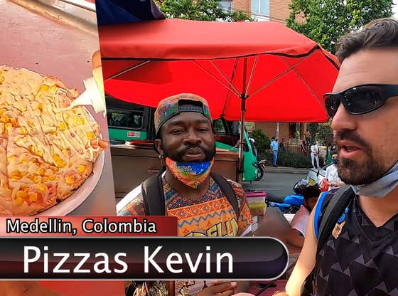 BARSTOOL (ABROAD) PIZZA REVIEW - PIZZAS KEVIN (MEDELLIN COLOMBIA)