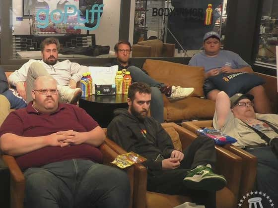 Replay: The Gambling Cave is Packed to Sweat Out the Michigan-UCLA First Half