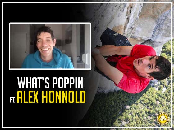 The Oscars, Climbing, And Being Inspired By Liam Neeson Movies: What's Poppin' with Alex Honnold