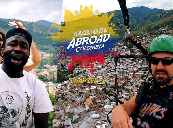 I MADE A MUSIC VIDEO FOR A COLOMBIAN RAPPER | BARSTOOL ABROAD COLOMBIA FINALE!