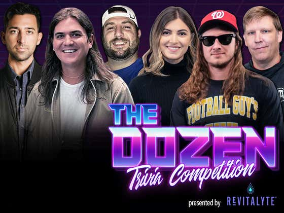 Playoff-Push Begins As Underdogs Look To Pull Huge Trivia Upset (The Dozen pres. by Revitalyte: Episode 096)