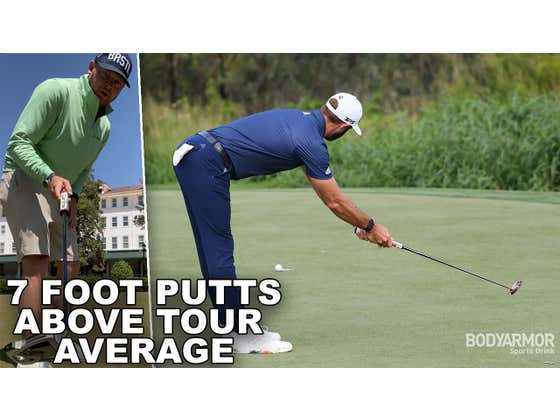 I'm Trying To Become An Above Average Tour Putter From 7 Feet