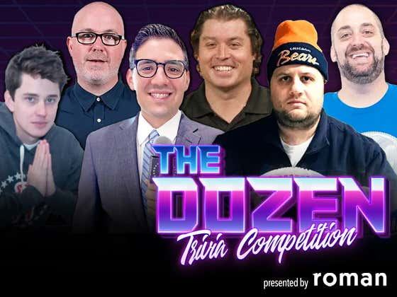 Trivia Tournament Push Begins As Fan-Favorite Team Ziti On Brink Of Elimination (The Dozen pres. by Roman: Episode 097)