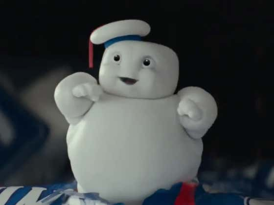 All It Took Was One Cute Mini Stay Puft Marshmallow Man In The New Trailer For Me To Be All In On Ghostbusters: Afterlife