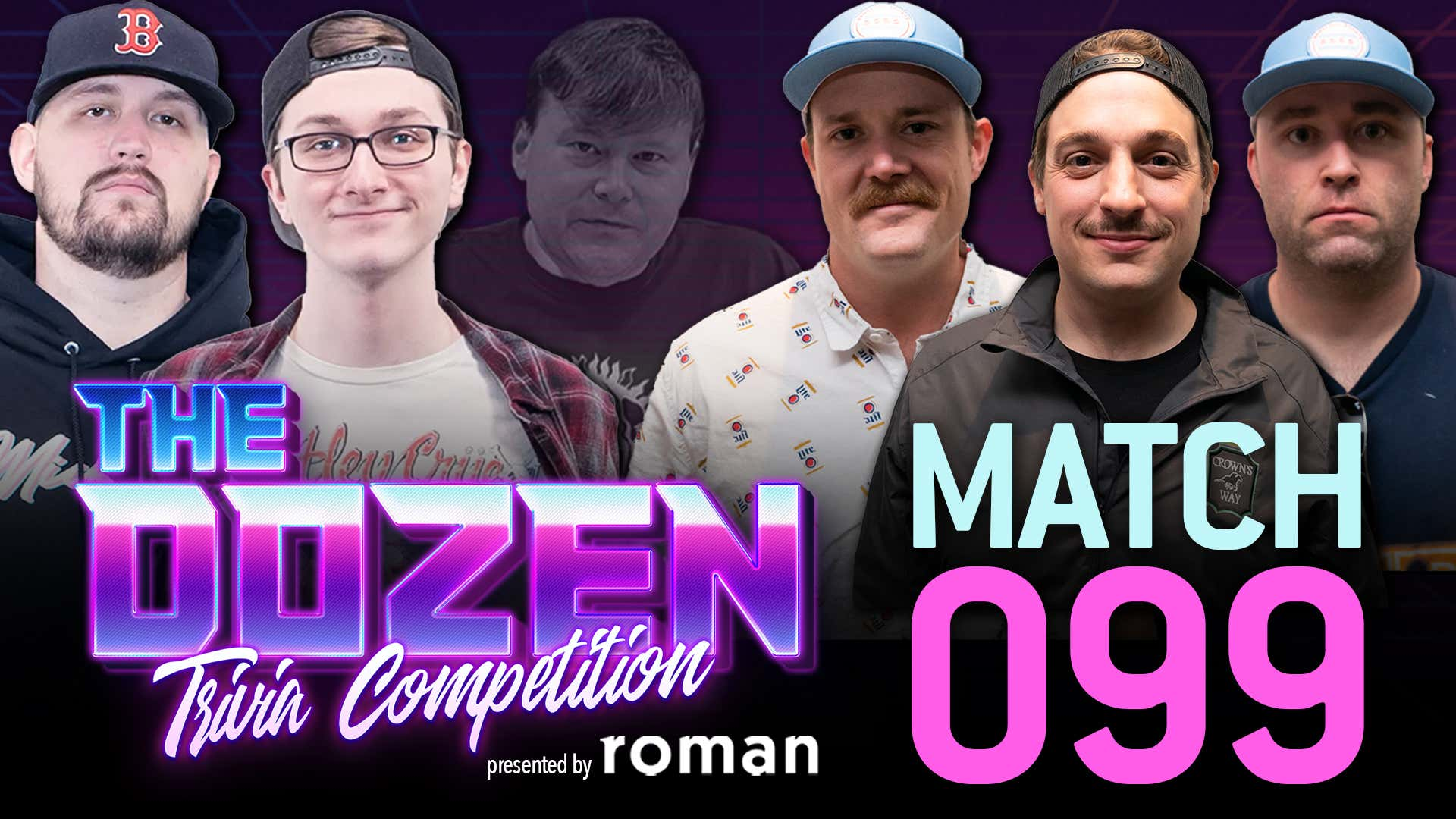 The Dozen: Trivia Competition pres. by Roman - Coley & Robbie vs. Chicago's Carl, Chief, & White Sox Dave