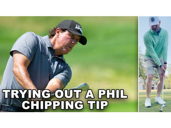 Nothing Like A Good Golf Tip Via Twitter