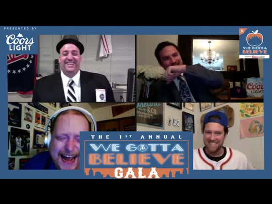The First We Gotta Believe Gala Was A Rousing Success With Rico Bosco Sharing His Bizarre WFAN Calls, Glenny Balls Being Glenny Balls, And Frank The Tank Becoming The First Guest Ever Ejected