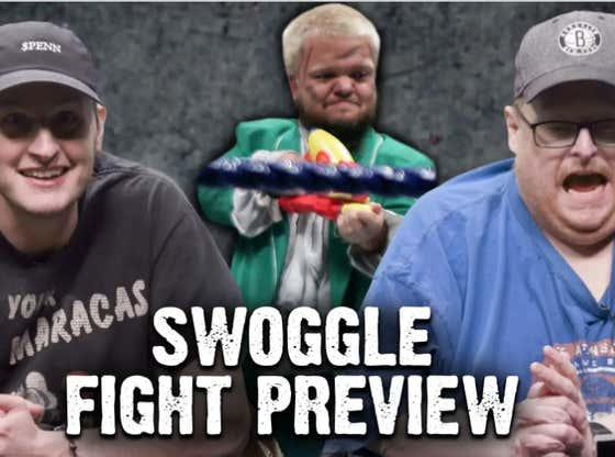 Frank The Tank & Rone Break Down 4'4'' SWOGGLE Entering The Boxing Ring VS. 4'5'' DYNAMITE