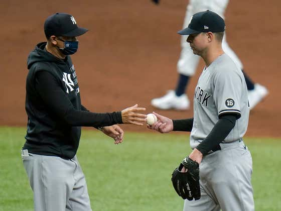 It Took Them Seven Games, But The Yankees' Pitching Finally Failed Them For The First Time This Season