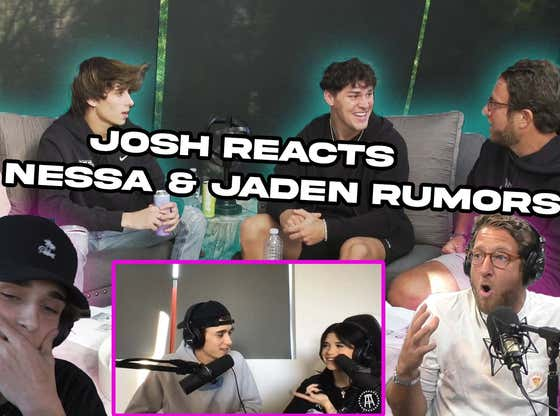 Josh Richards Reacts To Nessa and Jaden Rumors - BFFs Episode 22 w/ Noah Beck