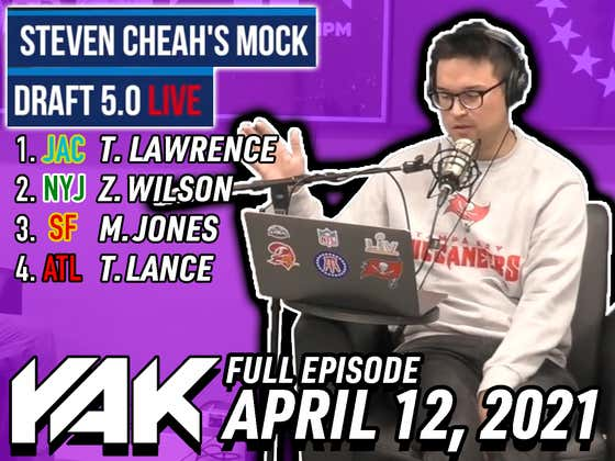 Steven Cheah Unveils His Mock Draft 5.0 Live On The Yak