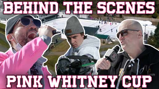 A Behind The Scenes Look At The Pink Whitney Cup From Biz's Point Of View