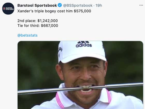 Golf Has To Stop Pretending They Aren't Playing For Money With 100s Of Thousands Of Dollars On The Line Every Shot