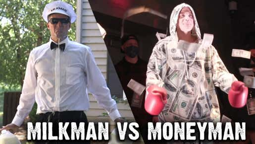 Bah Gawd... IS THAT THE MILKMAN'S MUSIC??! Frank The Tank & Rone Break Down His Matchup