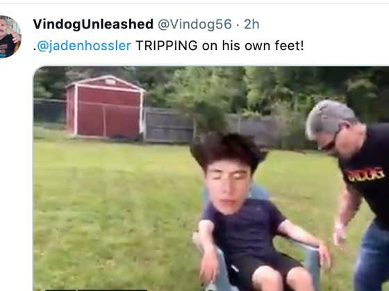UPDATE: Vindog Has Entered The Ring And Is Currently Memeing Jaden Hossler To Death