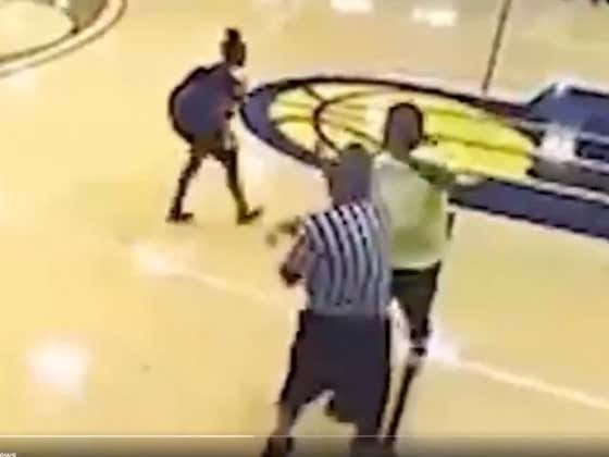This Ref Got Body Slammed At A Girls AAU Game In Indiana
