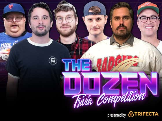 #1 Ranked Trivia Teams Face-Off For Regular Season Title (The Dozen pres. by Trifecta Nutrition: Episode 100)
