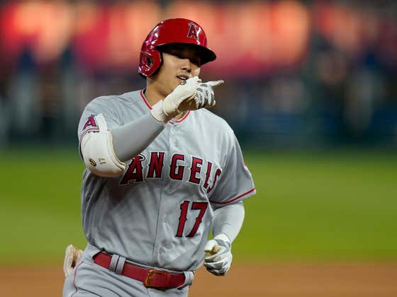 Not Only Is Shohei Ohtani Still Hitting Tape Measure Homers, He's Now Beating Out Routine Ground Balls To The Shortstop