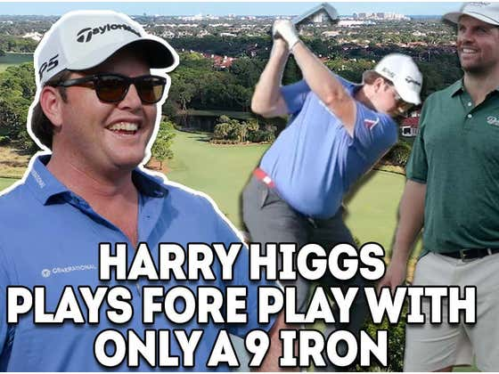 Fore Play vs. Harry Higgs - One Club Challenge, 9 Iron