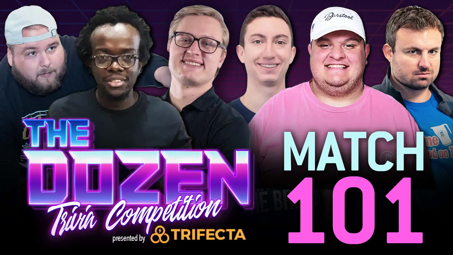 The Dozen pres. by Trifecta Nutrition - Bubble Teams Showcase I: Smitty, Tommy, Glenny Balls vs. Joey, Big Ev, Zah