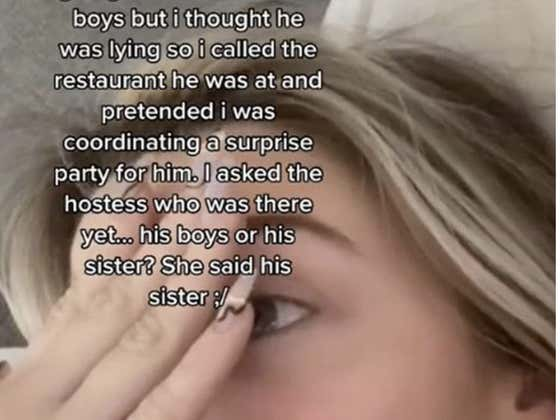 """Tik Tok Girl Activates """"Suspicious Girlfriend Mode"""" (Undefeated Lifetime), Immediately Gets A Restaurant Hostess To Accidentally Expose Her Boyfriend's Cheating"""