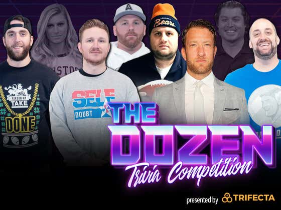 Dave Portnoy Steps Up To Help Trivia Team Abandoned By Rico For Playoff Push (The Dozen pres. by Trifecta Nutrition: Episode 102)