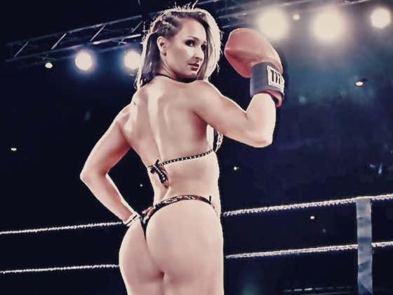 Rough N' Rowdy Ring Girl Of The Day - Hot Wheelz