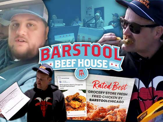 Barstool Chicago Is Getting A New Office And That's Not Even Our Biggest News Of The Week (Beef House Volume 18)