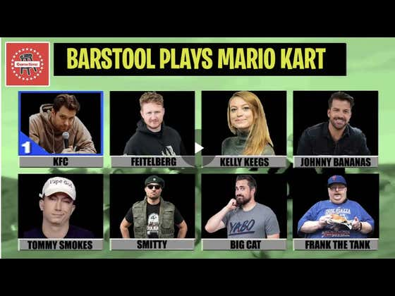 The Barstool Office Battles In Mario Kart 64