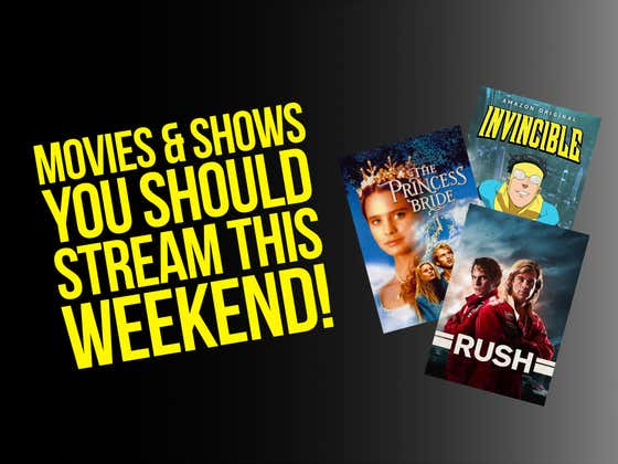 From The Natural to The Princess Bride, Here Are 10 Movies And 3 Shows You Should Be Streaming