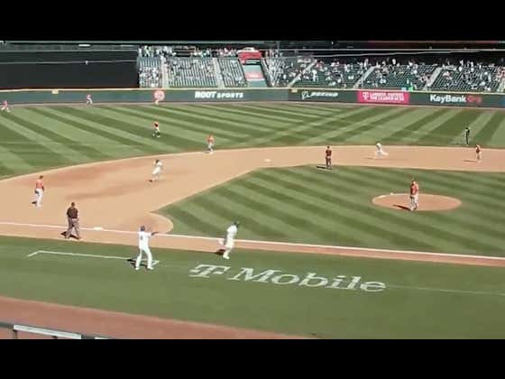 I Need More Highlights Via The Mariners Fly Cam Angle And I Need It Now