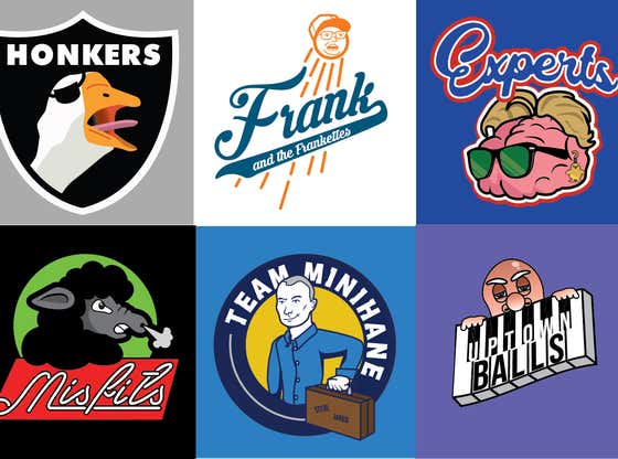 The Reveal Of The Dozen Trivia League Team Logos