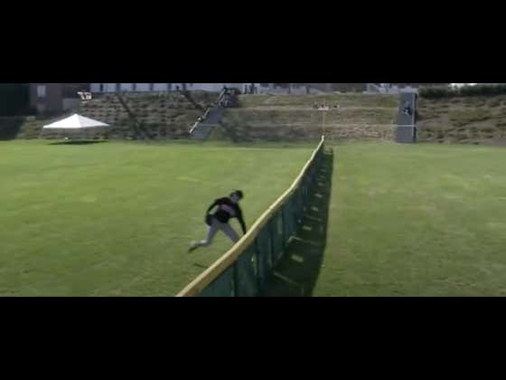 This Wesleyan Outfielder Made The Play Of The Year In College Baseball