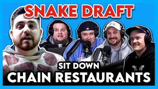 Sit-Down Chain Restaurant Draft (ft. Jeff D. Lowe): Is This The Horniest Whitesoxdave Has Ever Been?